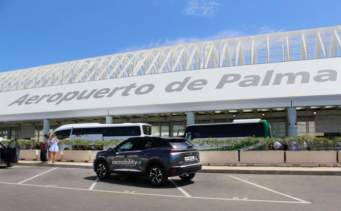 OK Mobility Aeropuerto de Palma de Mallorca.