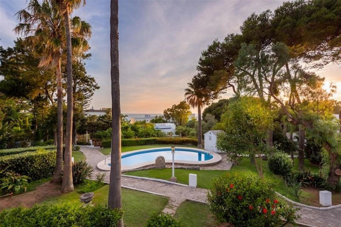 Vista de los Jardines de Suites Cortijo Fontanilla / Autor: Suites Cortijo Fontanilla