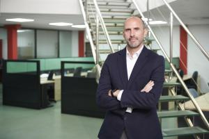 Jorge Torres, director general, en una de las sedes de Aitana.