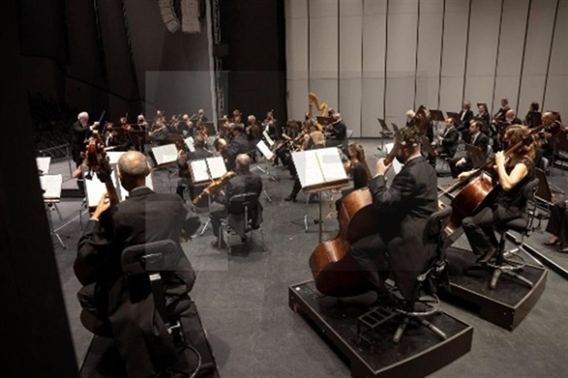 Imagen de un concierto de música clásica