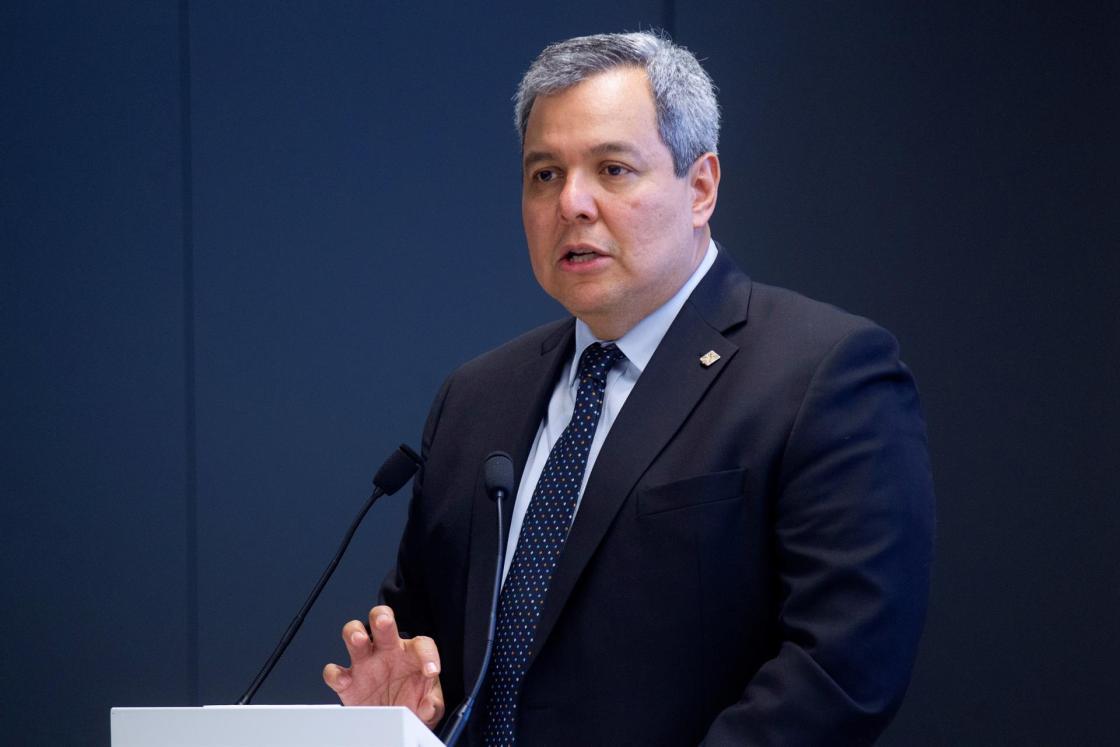En la imagen, el presidente del Banco Centroamericano de Integración Económica (BCIE), Dante Mossi. EFE/Javier Liaño/Archivo