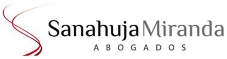 Logo del despacho Sanahuja Miranda Abogados.