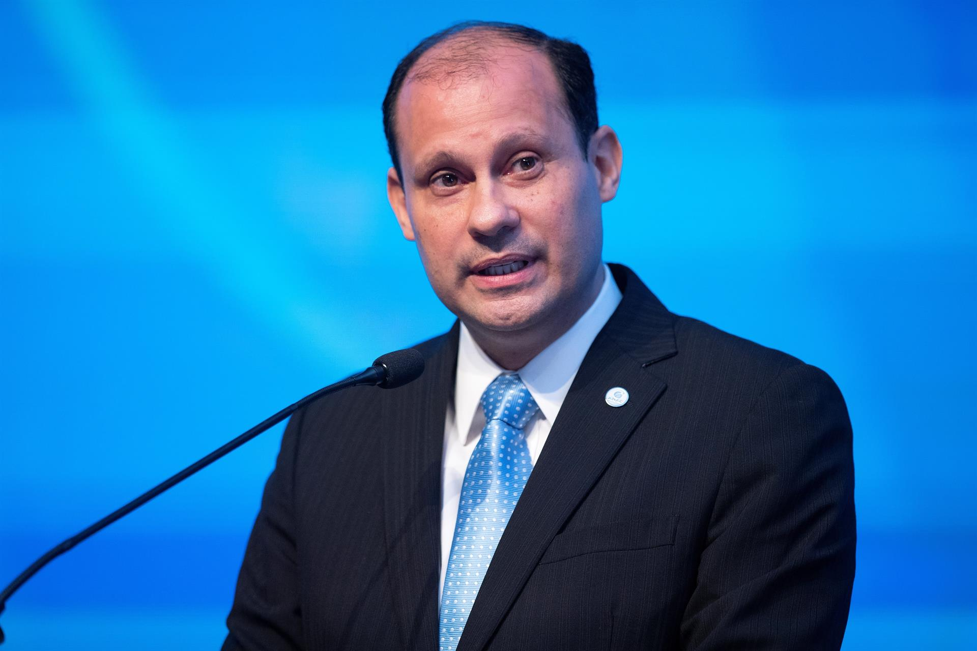El director ejecutivo y consejero delegado (CEO) de la Agencia Nacional de Aviación (ANAC), José Ricardo Botelho. EFE/Joédson Alves/Archivo