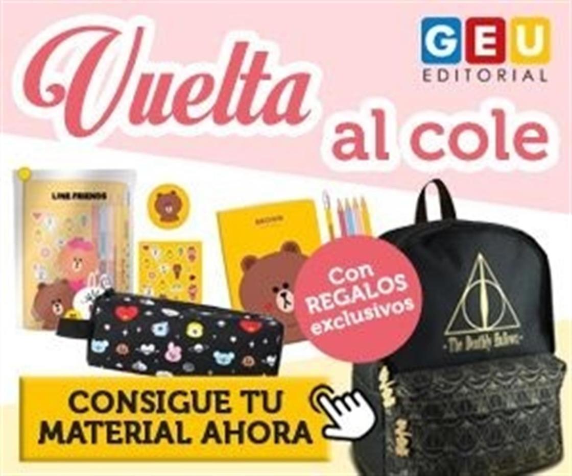 Vuelta al cole con Editorial GEU.