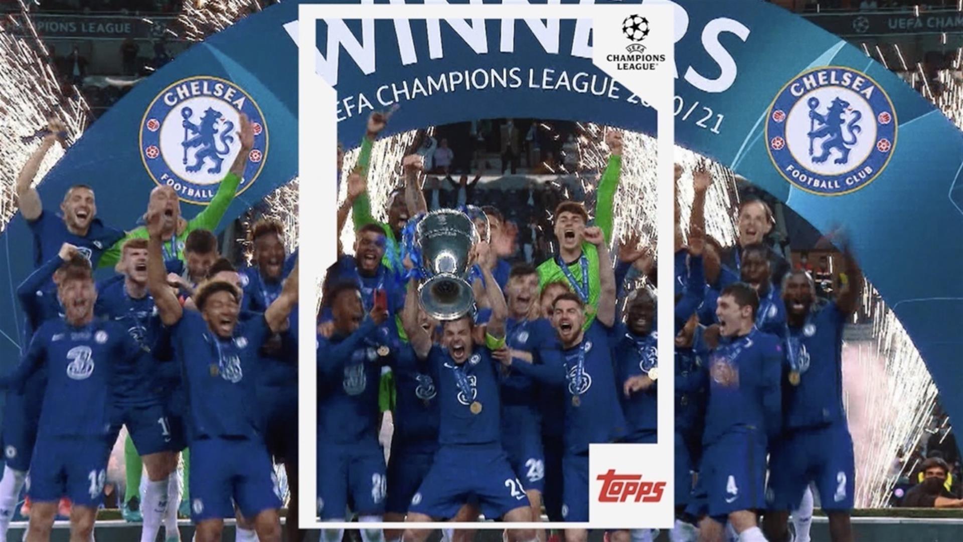 Topps, empresa líder de coleccionables de cartas, se convierte en el socio único para competiciones de la UEFA de toda Europa