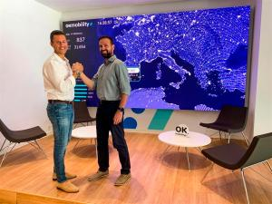 Othman Ktiri, CEO de OK Mobility, y Toni Oliver, CTO.