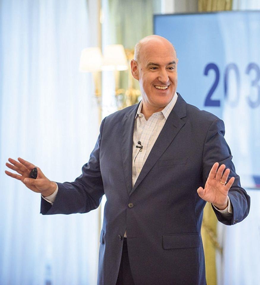 El español Mauro Guillén, decano de la escuela de negocios de CambridgeAutor: GCCI.