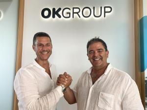 El Presidente de OK Group, Othman Ktiri y el Presidente de Smy Hotels, Ovidio AndrésAutor: OK Group