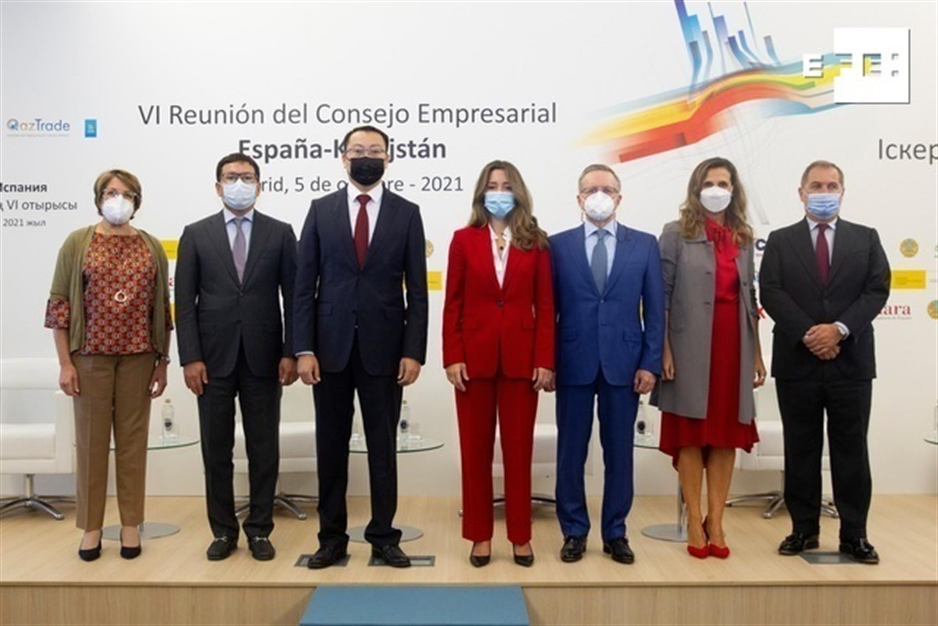 España y Kazajistán acuerdos